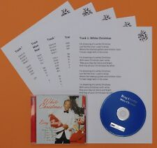 White Christmas-Bing Crosby–CD and Laminated Song Sheets,Dementia Activities