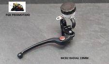 Hauptbremszylinder Motorrad Radial Schwarz MCB2