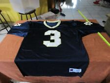 Notre Dame Fighting Irish #3 Vintage Champion Football Jersey Size 44