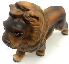 """Vintage Porcelain Lion Figurine Japan 9"""" Collectible"""