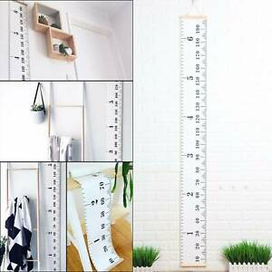 Wooden Kids Growth Height Chart Ruler Kids Room Decor Wall Hanging Measure Pro