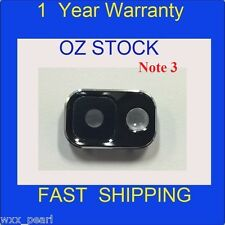 NEW Samsung Galaxy Note 3 4G N9005 Rear Back Camera Lens Cover Replacement black