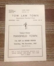 TOW LAW TOWN V MANSFIELD TOWN - FAC 1st RD - 9/12/1967