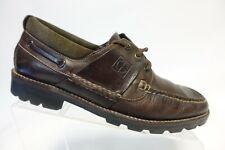 COLE HAAN Leather Brown Sz 8 M Men Boat Shoes