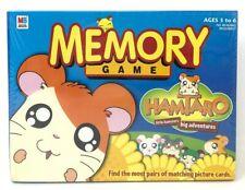 Sealed Hamtaro Hamster Memory Game Milton Bradley Vintage Hasbro Rare Htf 2002