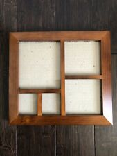 Brown Wood Multi Sizes Photo Collage Frame Great Christmas Gift