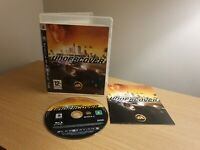 Need for Speed: Undercover (Sony PlayStation 3, 2008) PS3 - COMPLETE WITH MANUAL