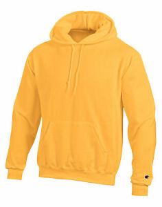 Champion Sweatshirt Hoodie Fleece Pullover Eco Double Dry Wicking Comfortable