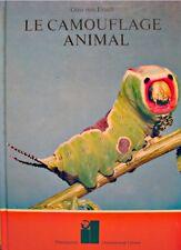 ++OTTO VON FRISCH le camouflage animal 1973 FLAMMARION++
