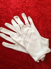 360 x WHITE gloves XL -100 % COTTON - inspection gloves Brand New Bulk wholesale