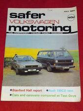 VW - SAFER MOTORING - AUDI 100CD TEST - July 1983