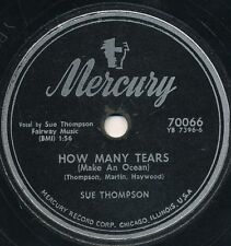 78 -14BB  - HILLBILLY - MERCURY 70066 - SUE THOMPSON