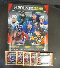 2017 PANINI NHL  Hockey STICKERS Book ALBUM 5 PACKS WITH 7 STICKERS PER PACK