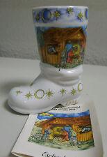 ** Weihnachtssiefel Porzellan Eschenbach 1993 Motive 1  lim. Edition Bierstiefel