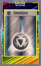 🌈Energie Métal Reverse - XY12:Evolutions-98/108 - Carte Pokemon Neuve Française