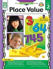 Place Value, Grades K - 5: Practice Pages and Easy-to-Play Learning Games for