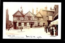 Stockport - White Lion Inn - real photographic postcard