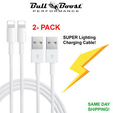 2-Pack Lightning Cable For Apple Quality iPhone/iPad/iPod Charger Charging Cord