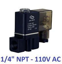 14 Inch Fast Acting Air Water Zero Pressure Electric Solenoid Valve 110v Ac