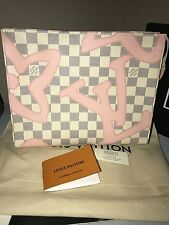 LOUIS VUITTON Toiletry 26 Pouch Clutch Tahitienne LARGEST SIZE ~ MADE IN FRANCE