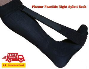 Plantar Fasciitis Night Splint Sock Foot Drop Brace Heel Achilles Tendonitis