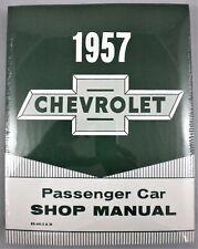 1957 Chevrolet Passenger Car Factory Workshop Manual
