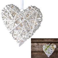 Cœur Osier Blanc Décorations Mariage Cœurs Mariage Maison Bois Décoration 204