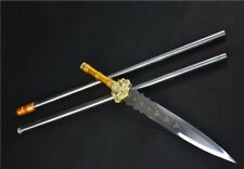 Phoenix SPEARHEAD Chinese Wushu Spear Sword Manganese Steel Saber Long Handle