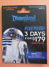 Disney ** STAR WARS ** R2D2 Limited Edition Gift Card - MINT/HTF - No $ value