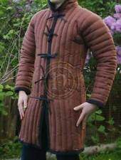 New Medieval Accessories Gambeson Roman Dress Mast Fancy Style Brown Color