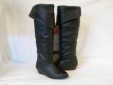 Chinese Laundry 5.5 M Turbo Charged Black Knee High Boots New Womens Shoes