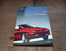 GM Geo Storm 1993 Automobile Car Service & Repair Manual ST371-93