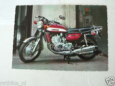 SUZUKI 750 CC 3-CYL. MOTORCYCLE MOTORRAD VINTAGE ORIGINAL POSTCARD