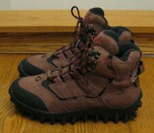 SALOMON Contragrip Clima Dry brown leather HIKING / TRAIL BOOTS Men 9 / Women 10