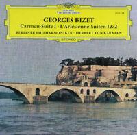 "DG 2530 128 Georges Bizet Carmen Suite Berlin PO, Von Karajan Vinyl 12"" LP"