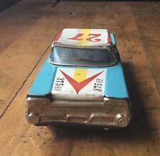 Vintage Cragstan Speed King #27 Tin Friction Champion Race Car Japan 1960