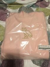 October's Very Own OVO Owl Centre Chest Hoodie Pink Size Small