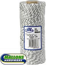 Marshalltown 16588/635 White Flecked 500ft/152m Braided Bricklayers Mason Line