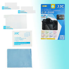 Nikon D500 Top Back Hard Tempered Glass LCD Screen Guard Protector JJC GSP-D500