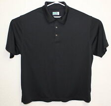 Ben Hogan Performance Mens Black Golf Polo Short Sleeve 2XL Shirt EUC