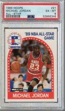 1989/90 Hoops All Star Michael Jordan #21 PSA 6