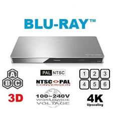 Panasonic DMP-BDT460 4K 3D Upscaling Smart Network Blu-ray DVD Player +Remote
