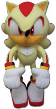 """NEW Official Super Shadow 12"""" Stuffed Plush Toy - GE-52631 - Sonic the Hedgehog"""