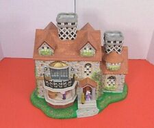 PartyLite Olde World Village Tea Light House 3 Bristol House