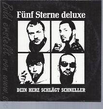 CD--FÜNF STERNE DELUXE -- --- DEIN HERZ SCHLÄGT SCHNELLER --PROMO--CARDSLEEVE--