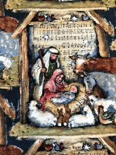 Susan Winget Holy Family Fabric