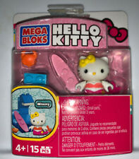 Mega Bloks Hello Kitty Surfing Mimmy Toy Figure New Sealed 15 pcs
