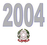 ITALIA Repubblica 2004 Singolo Annata Completa integri MNH ** Tutte le emissioni