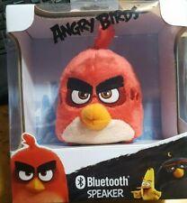 Angry Birds Bluetooth Speaker AB-BB4.EX by eKids Red Plush Bird 2016 Brand New