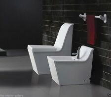 One Piece Toilet - Modern Bathroom Toilet - Dual Flush Toilet - Cusio - 27.6""